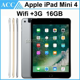 Wholesale Refurbished Original iPad Mini WIFI G Cellular GB inch Retina Display A8 Chip Gold Silver Space Gray Free DHL
