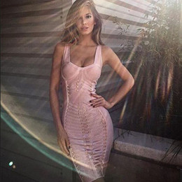 2016 summer edge sequined strapless strapless straps knee-length women knitted fashion red nude black bodycon bandage dresses