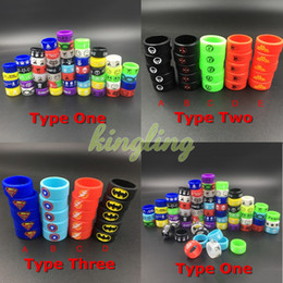 Ecigs Vape Silicone Bands silicon rubber band ring for mech mods protection vape mod rubber vape bands Colorful Vaporizer Tanks Free Ship