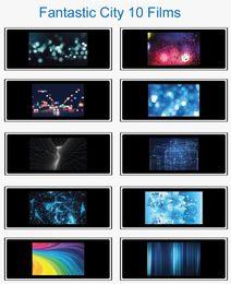 Wholesale Hpusn BGP Fantastic City Series Films for Photography Studio Flash image projector