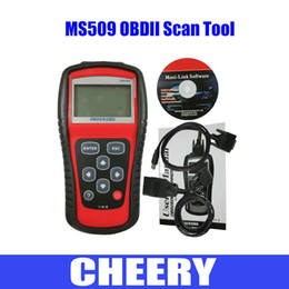 Wholesale MS509 OBD2 code scanner MS Auto scan tool Engine fault Automotive Diagnostic Tool MS OBDII EOBD CODE READER auto scanner coverage