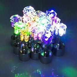 Wholesale 2016 Best Gift LED Stud Flash Earrings Hairpins Strobe LED Earring Lights Strobe LED Luminous Jewellery Earring Party Magnets Fashion Lights