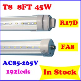 Wholesale 45w foot high out put led bulbs with R17D FA8 ends single pin led tube lights ft led light tube