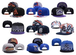 Wholesale Baltimore Orioles Baseball Caps Snapback Chicago Cubs Adjustable Cap Colorado Rockies hats Detroit Tigers Cap Kansas City Royals hat