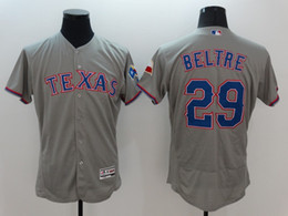 Wholesale Texas Rangers Adrian Beltre New Men Grey Jerseys MLB Baseball Jersey Free Drop Shipping Mix order