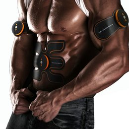 Wholesale SHANDONG EMS Electrical Muscle Stimulation Muscle Training Gear Abs Fit Black and Orange New