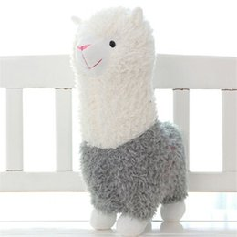 Wholesale Cute Stuffed Horse Toys - Wholesale 2016 High Quality New Lovely Grass Mud horse Toys Cute Style Lama pacos stuffed toys Birthday Gift