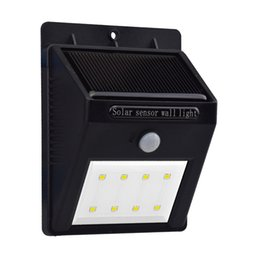 Wholesale Motion Sensor LED Lights for Garden Solar Power Outdoor LED Light No Tools Required Peel and Stick Motion Activated Patio Fencing Path