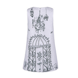 Wholesale Kids Dresses for Girls Brand Baby Girls Dress Children Clothing Birdcage Pattern Princess Dress Kids Clothes Girls Dresses