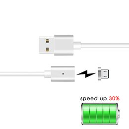 Wholesale Original Micro USB cable charger cable For Android Universal Magnetic cable For huawei ZTE XiaoMi high speed smart phone
