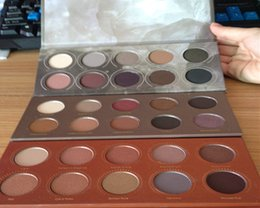 Wholesale Dropshipping hot sale ZOEVA Eyeshadow Palette Mixed Smoky cocoa blend rose golden New Collection color eyeshadow eye set eyeshadow