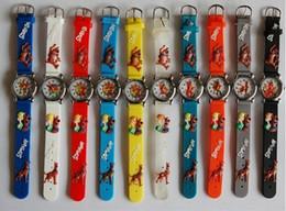 Wholesale 3D Cartoon Lovely Kids Girls Boys Children Students Scooby Doo Quartz Wrist Watch Very Popular