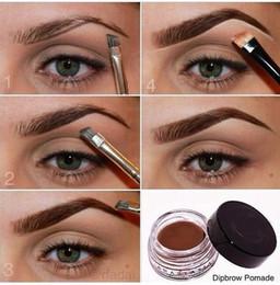 Wholesale Dip brow Pomade Eyebrow Enhancers Waterproof Creamy Eyebrow Long Lasting Full Thick Brows Fast Drying Ana Eyebrow Enhancers ABH Makeup Tools