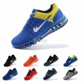 Wholesale 2016 Fashion Max Running Shoes Women Men Sport Sneakers KPU Material Training Athletic Walking Sneakers Eur