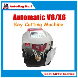 Wholesale Best Price Automatic V8 X6 Key Cutting Machine X6 Car Key Cutting Machine V8 Auto Key Programmer Fast x6 key machine