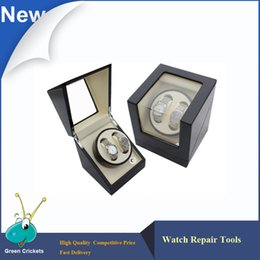 Wholesale Latest High Gloss Ultra silent motor Wooden automatic Watch Winder mechanical watches storage winder box