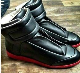 Wholesale With Box Maison Martin Margiela high help dazzle colour leisure shoes for men and women fashion movement party