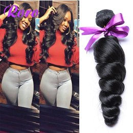 Brazilian Hair Cheap 8A Peruvian Brazilian Indian Malaysian Hair Extension Virgin Hair Loose Wave virgin hair 10-28 inch Free Shipping