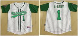 Wholesale Jarius G Baby Evans Kekambas Baseball Jersey Includes ARCHA Patch Mens White Stitched jerseys