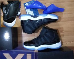 Wholesale Space Jam Quality AAA Air Retro XI Number in shoes back Space Jam Basketball Shoes Size