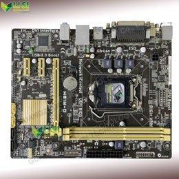 Wholesale Second Hand For Asus H81M D Desktop Motherboard For Intel H81 Socket LGA DDR3 On Sale