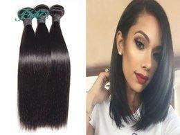 "Natural Human Hair Grade 7A 10""-30"" Inch Hair 100% Unprocessed Silky Straight Human Hair Weave 3Bundles Lot Full Head Hair Extensions"