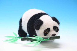 Wholesale about cm Electric toy bamboo panda walking rolling panda children s gift birthday gift a1864