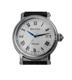 Wholesale best quality Seagull Elegant Fashion Automatic Business Men s Watch M186s Sapphire Dial Window by china post mail