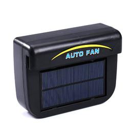 Wholesale Auto Solar Energy Air conditioning Ventilation System Car Exhaust Fan Cooler