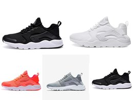 Wholesale Many colors huarache Ultra Run Men shoes Outdoor footwear huaraches sneakers Black white orange