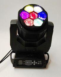 Oeil d'abeille à bas prix RGBW 4in1 7x15w conduit mini tête mobile de lumière scène de faisceau d'éclairage d'équipement d'oeil d'abeille 7x15w à partir de rgbw conduit faisceau mobile de la tête fabricateur