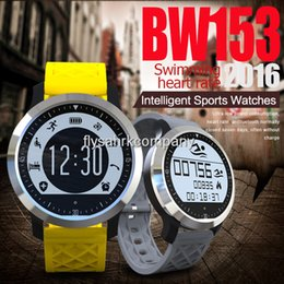 Promotion apple iphone montres intelligentes 2016 Natation Sport Waterproof Bluetooth SmartWatch F69 pulsomètre intelligents Montres Pour Apple iPhone Android Montres Cardio