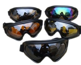 Wholesale Motorcycle Goggles Windproof Sand Protector Bike ATV Motocross Ski Snowboard Off road Goggles UV Protection CE X400 Goggles