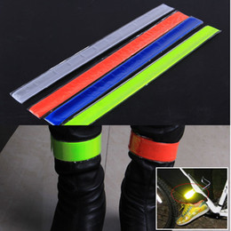 Four Colors Pratical MTB Road Bike Bicycle Cycling Reflective Safety Pant Band Leg Strap Belt Cycling Accessories Hotsale