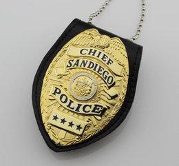 Wholesale Santiago San Diego badge length prison SANDIEGO multifunctional Wallet