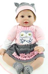 Wholesale Popular New Inch NPK Reborn Babies Doll Realistic Real Looking Soft Silicone Reborn Baby Dolls Bonecas Brinquedos
