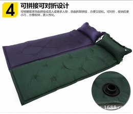 Automatic blow-up lilo dampproof mat outdoor tent