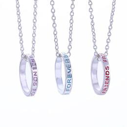 Nueva manera del collar de los mejores amigos para siempre por 3 partes collares pendientes de la joyería el envío libre de la amistad desde piezas de joyería de moda fabricantes