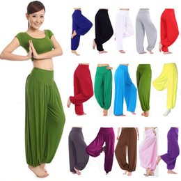 Yoga Pants Large WOMENS HAREM TROUSERS LONG PANTS BAGGY LEGGINGS CASUAL PLUS SIZE