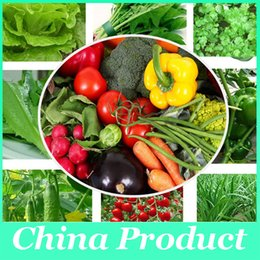 Wholesale 200 seeds pack mix Vegetables seeds fruit seeds Red Spicy Chili Pepper Seeds Tomato Seeds Plants seeds for garden balcony