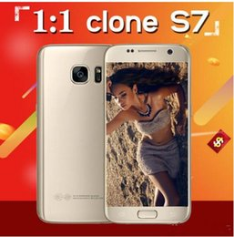 Wholesale Cell Phones Original 4g - 2016 Original Hot s7 MTK6735 Real 4G LTE Quad core 64GB Rom smart Phone 1920*1080 FHD 8MP Android Cell Phone