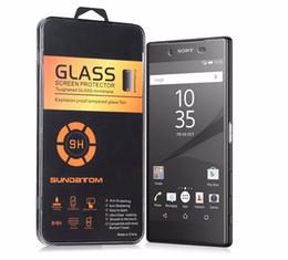 9H 2.5D Tempered Glass Film For Sony Xperia Z Z1 Mini Z2 Z3 MINI Z4 Z5 Premium Screen Protector Films with Crystal Package