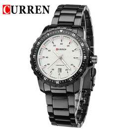 CURREN 8099 Full Steel Dial waterproof calendar Wristwatches motion leisure time Quartz Wristwatches relogio masculino Wristwatch wholesale