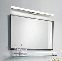 Wholesale Bathroom Mirror Light Led Wall Light Mirror Front Makeup LED Lighting Waterproof Antifogging Acrylic LED Wall Mirror Light