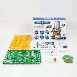 6 in 1 Super Solar Powered DIY Robot Science Kit Educational Toys for Kids Children