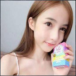 Gluta Whitening Soap rainbow soap OMO White Mix Fruits Color Alpha Arbutin Anti Dark Spot DHL free
