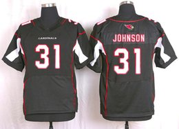 Wholesale 2016 Elite Men Jerseys David Johnson Tyrann Mathieu Patrick Peterson Carson Palmer Red Black Stitched Free Drop Shipping