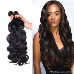 Wholesale 2015 hot Princess hair shop naturehair Malaysian body wave in mixed human hair bundles Maylasian hair extension