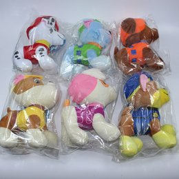 Wholesale 12CM Paw Plush Dolls Includes Skye Marshall Chase Zuma Rocky Rubble Patrol Figures Best Gifts For Kids