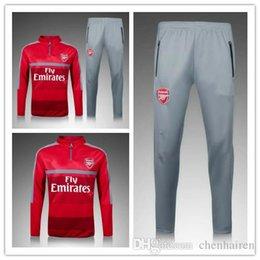 Wholesale 3A best quality soccer uniform Nian Arsenal explosion of new football training suit pants sportswear sportswear best qual